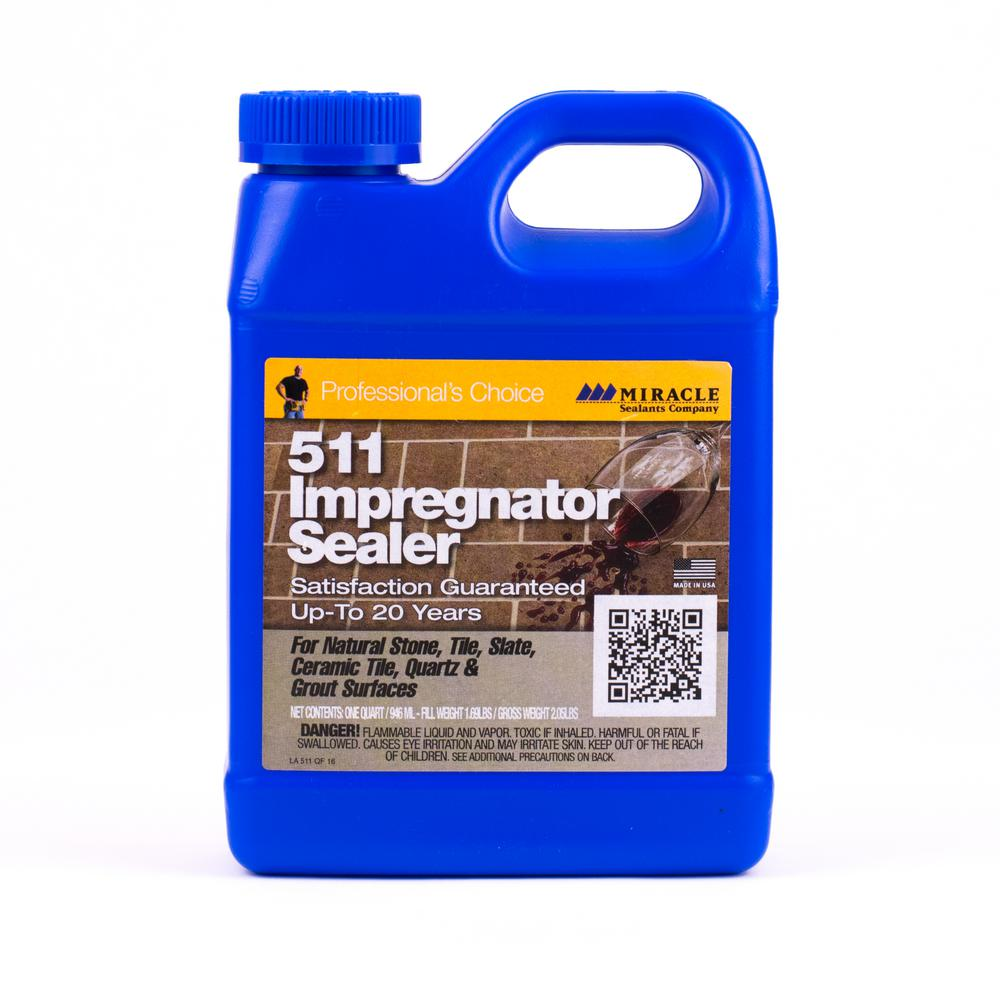 511 impregnator sealer bottle in blue