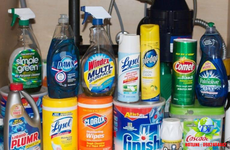 Hóa chất vệ sinh chuyên dụng