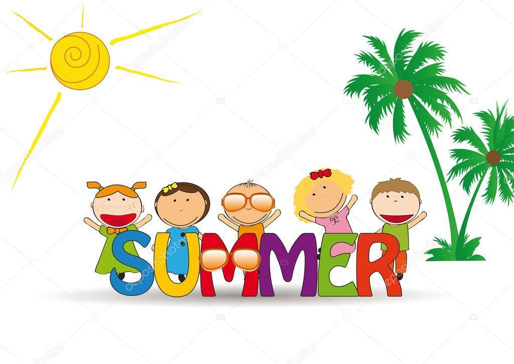 Výsledek obrázku pro děti v létě