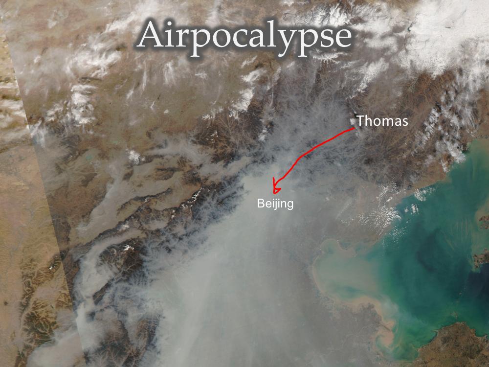 Beijing Airpocalypse Smog Haze PM2.5