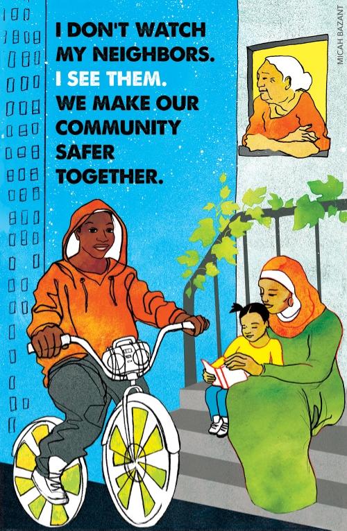 艺术家Micah Bazant的海报