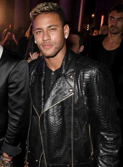 """Description: Image result for neymar in black leather jacket"""""""