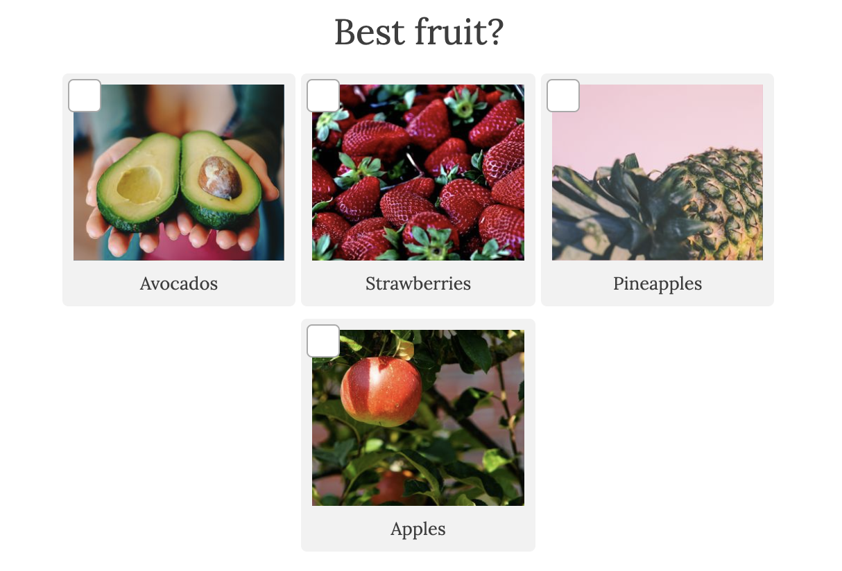 best fruit question with images