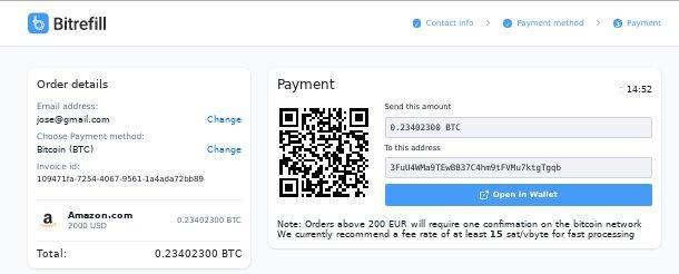 ar amazon užima bitcoin