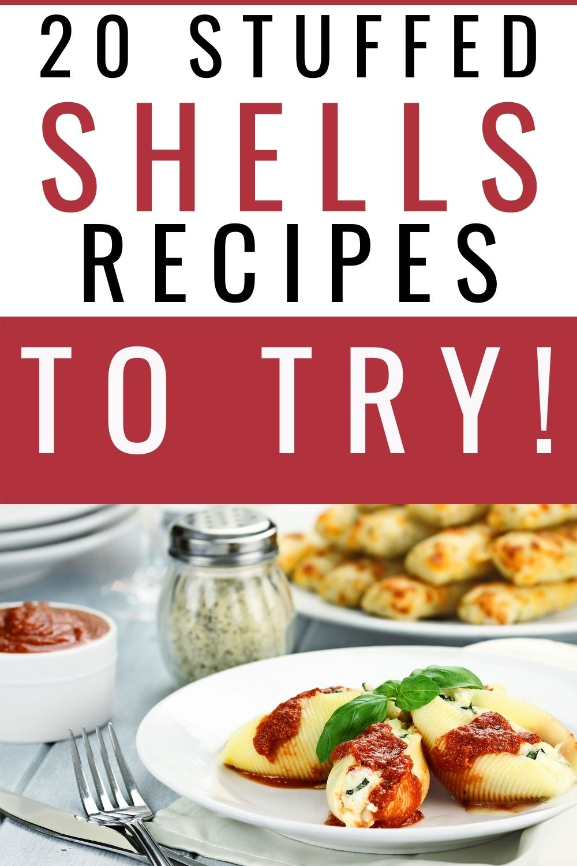 20 Stuffed Shells Recipes