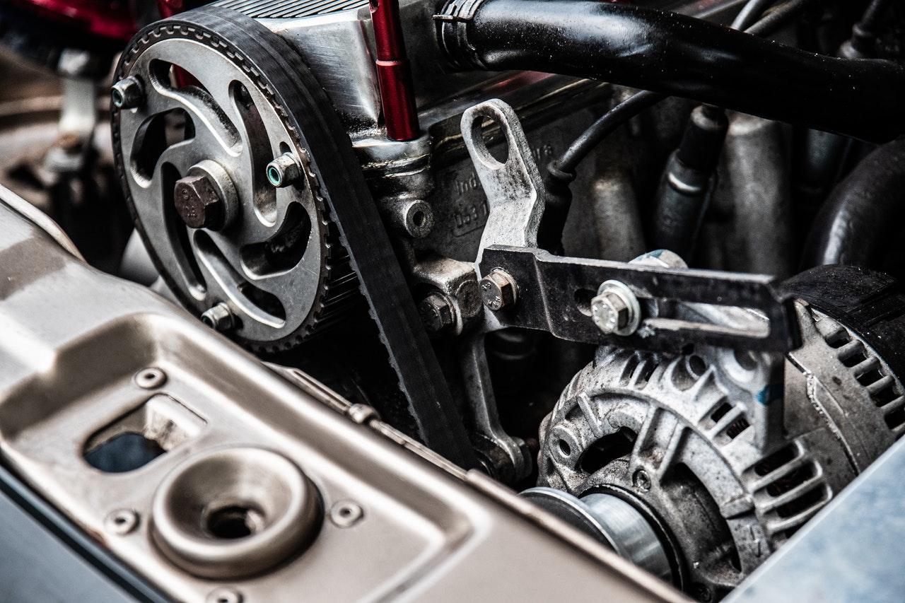 A car engine  Description automatically generated