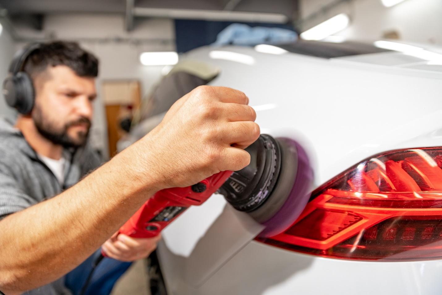 A professional ceramic coating a car instead of DIY ceramic coating.