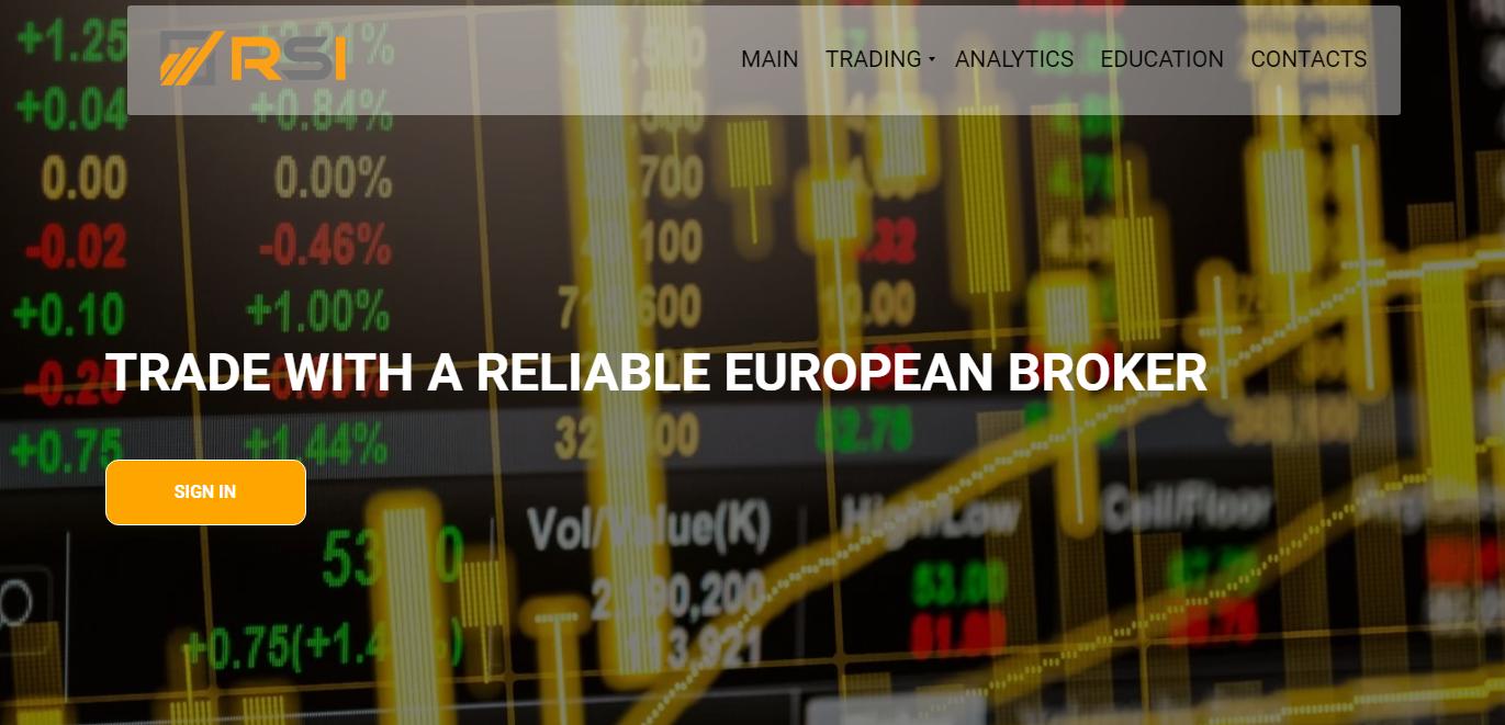Брокер RSI-trade: обзор коммерческих предложений и отзывы клиентов