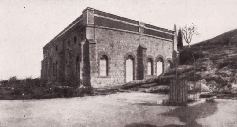 Baha'i Points of Interest: 1907: Shrine of the Báb on Mount Carmel