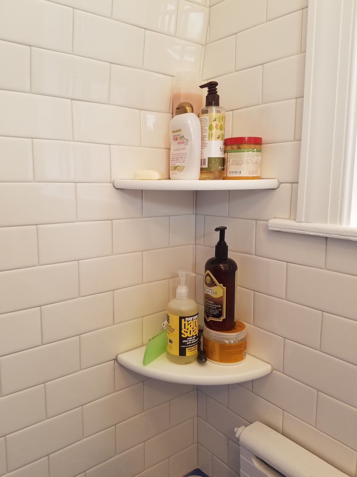 Modern Shower Caddy Alternative