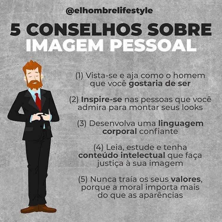 5 conselhos de estilo masculino