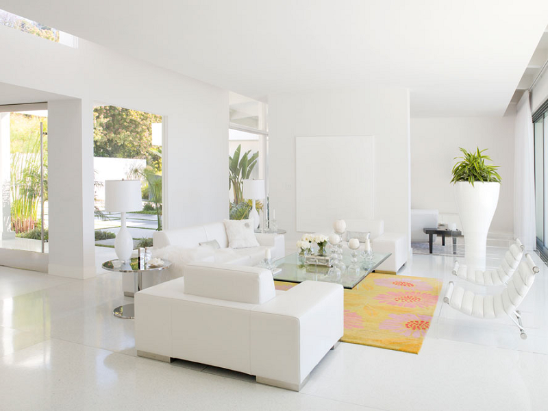 Những điểm cần lưu ý khi sơn nhà màu trắng