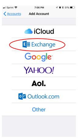 Exchange Selection