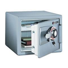 Sentry Safe OSO407: Combination Safe, 0.8 Ft3, 16-11/32w x 19-5/16d x 13-23/32h, Gunmetal Gray
