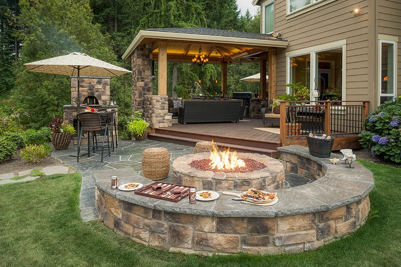 Dosis arquitectura perfecto para que la familia disfrute for Chimeneas para jardin