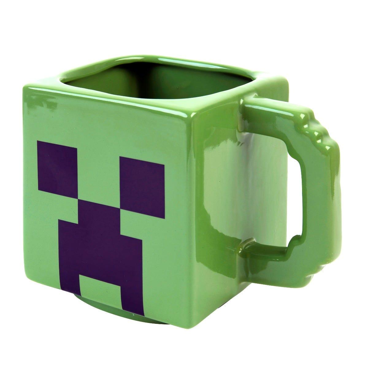 Dorm Room Decor Ideas; Clintons' minecraft 3D mug loose
