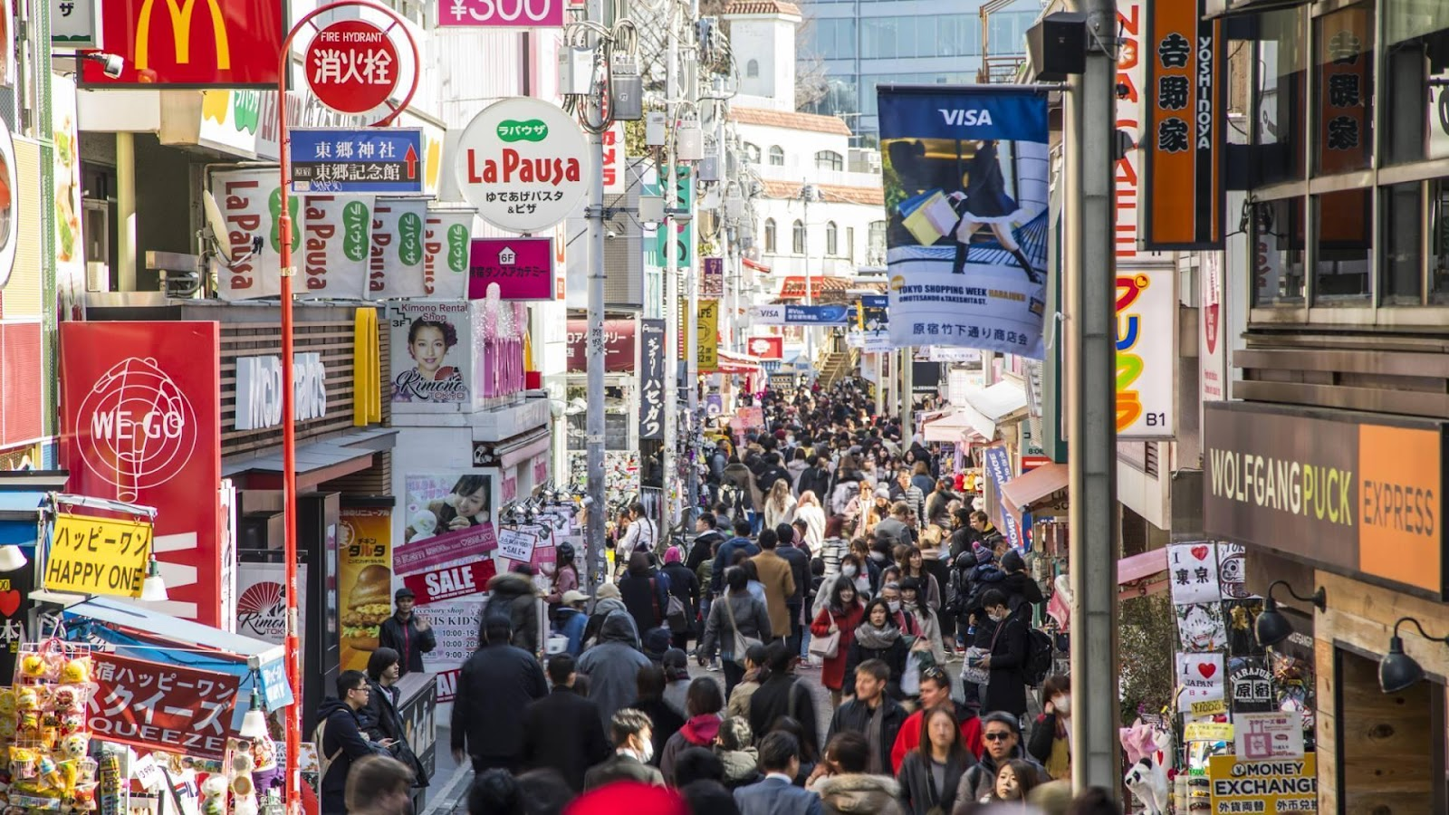 best shopping streets in tokyo