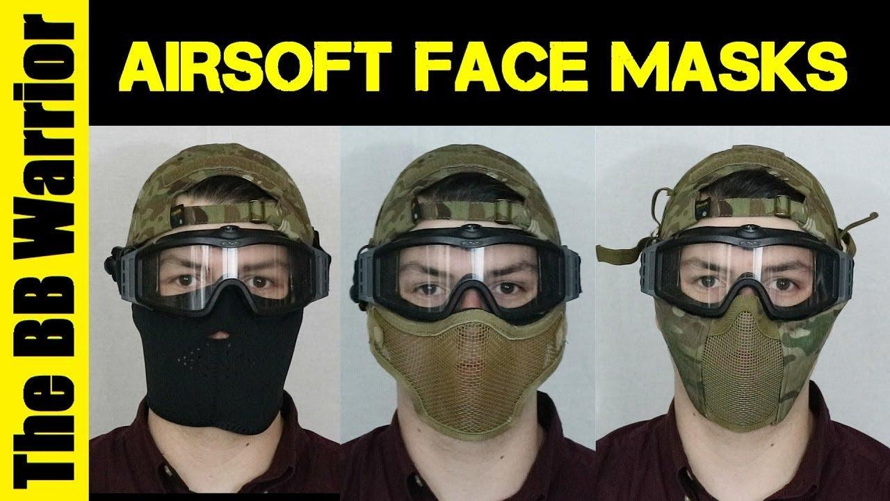 What is the Best Face Protection for Airsoft? - YouTube