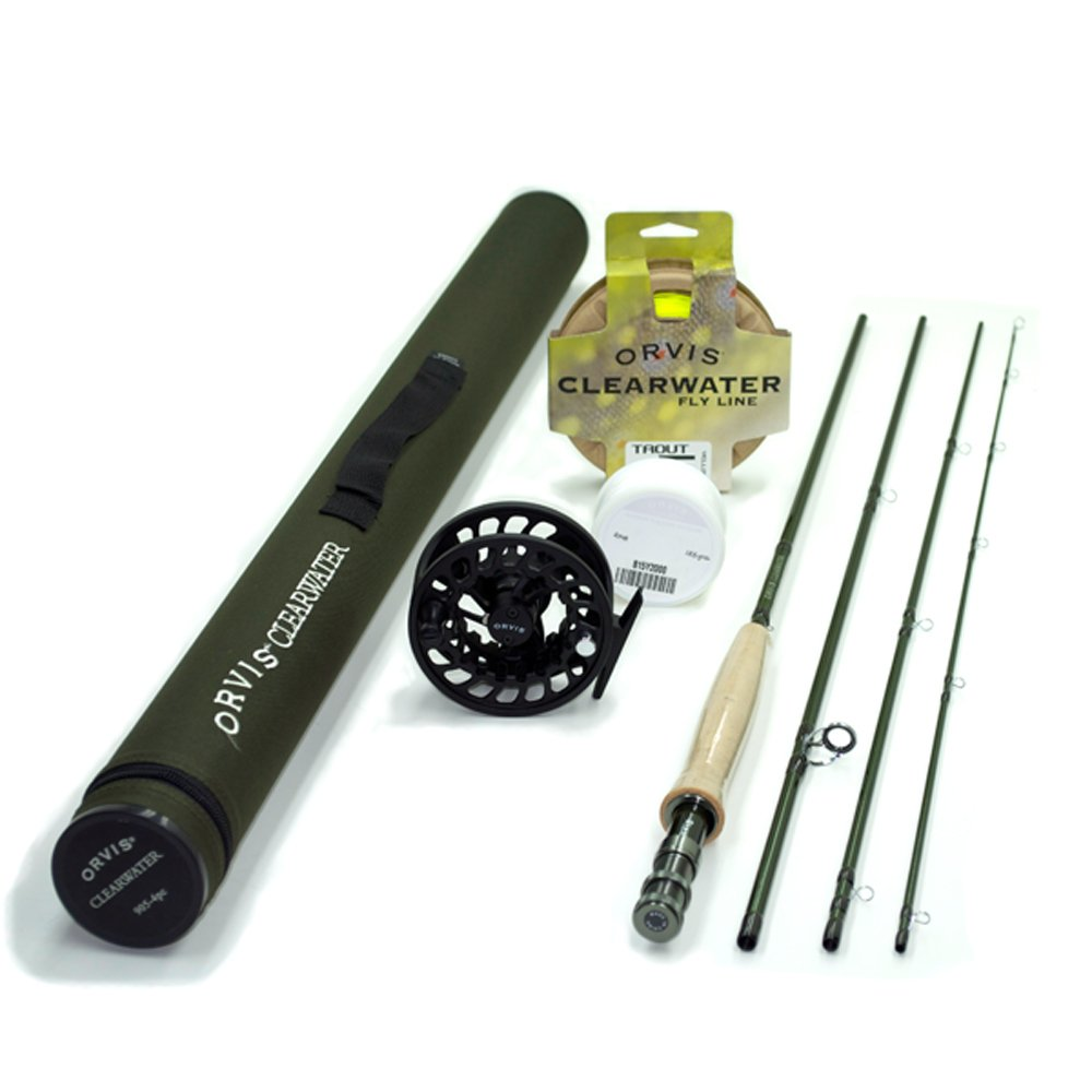 Orvis fly fishing rod and reel combo.