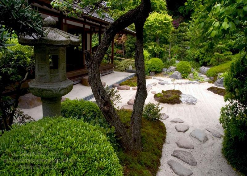 Sân vườn Nhật đẹp