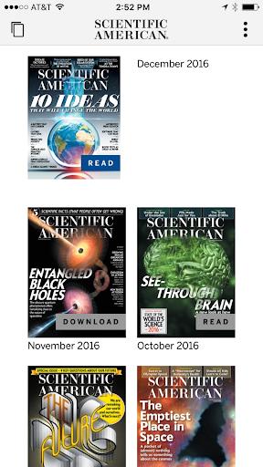 Scientific American– Vignette de la capture d'écran