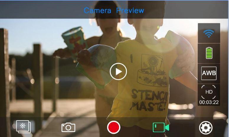 Camera video sport EKEN H9R