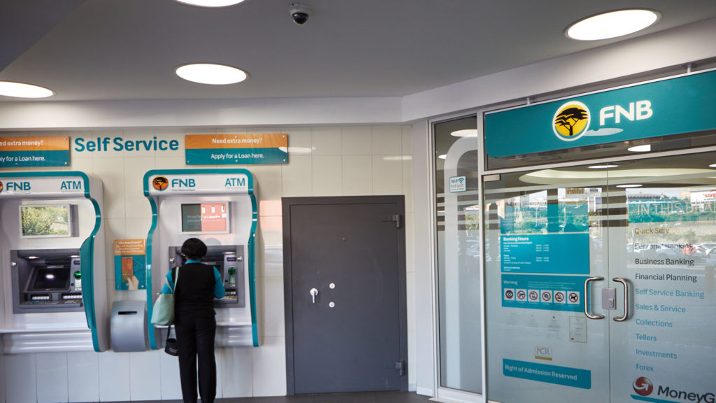 fnb credit card activation by atm