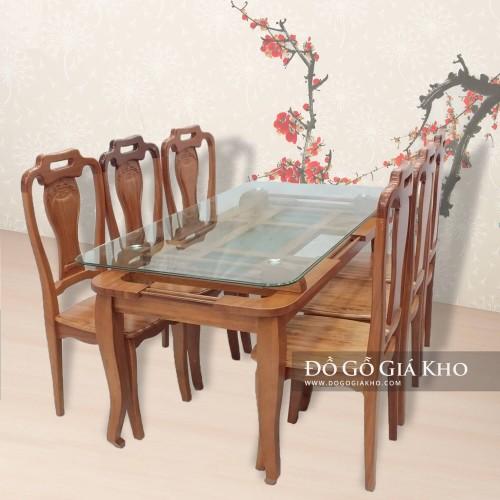 bộ bàn ăn được thiết kế hiện đại,