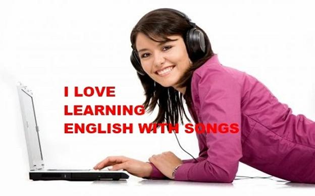 Kết quả hình ảnh cho cách học tiếng anh qua lời bài hát