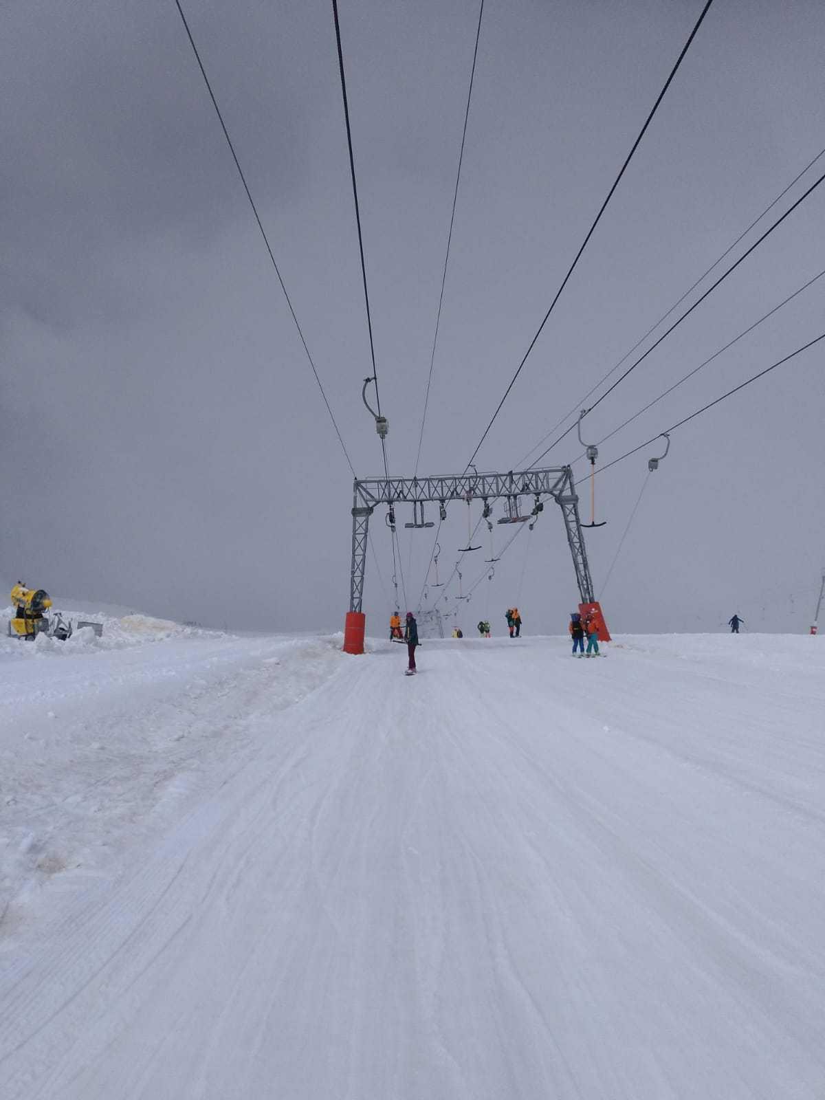 Esquiando en verano en Les 2 Alpes