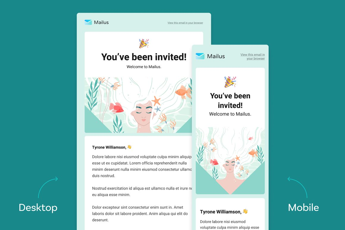 figma email template