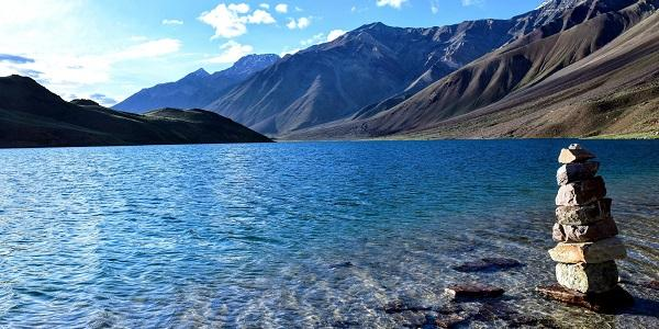 Image result for chandratal lake images