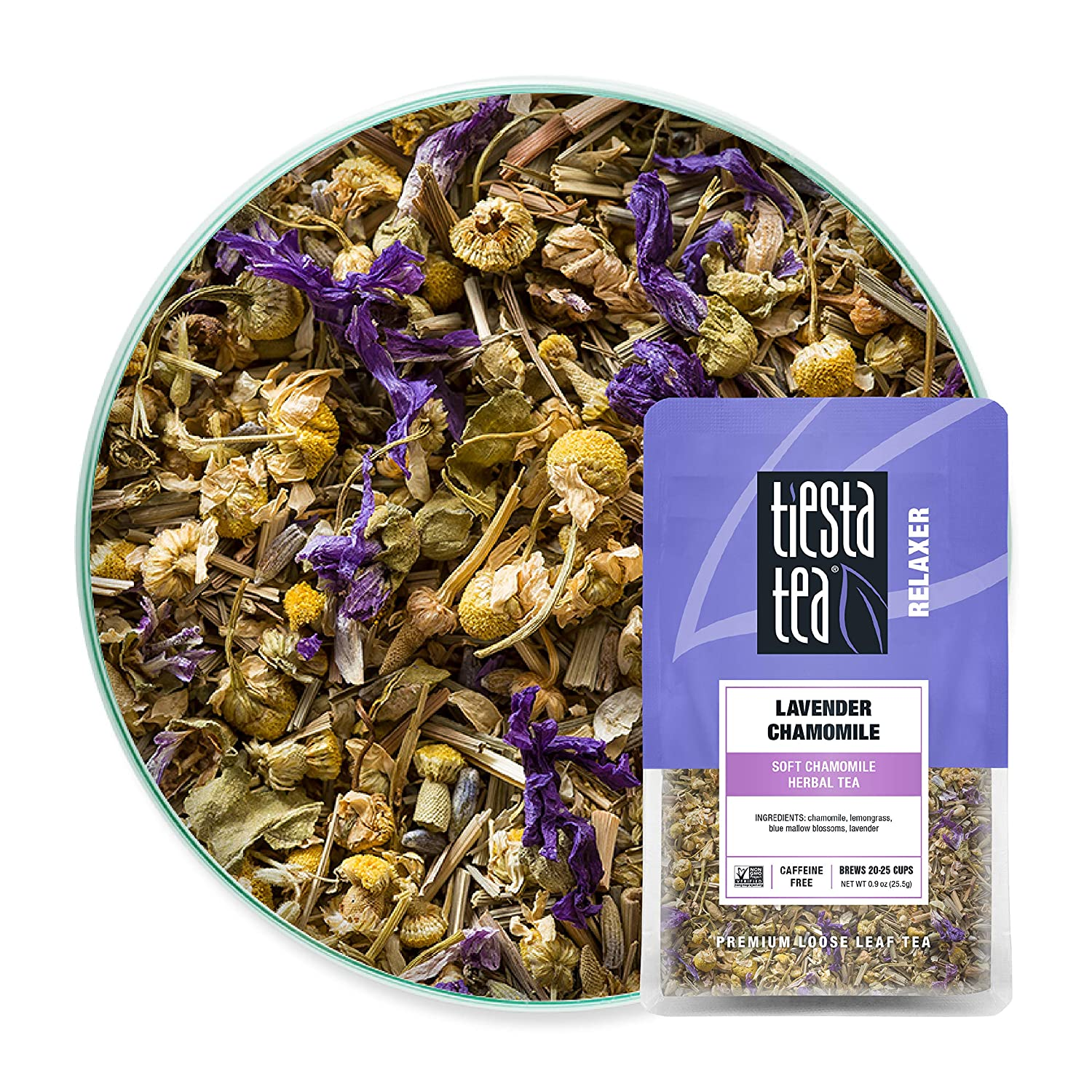 Herbal tea to stay calm for mothers