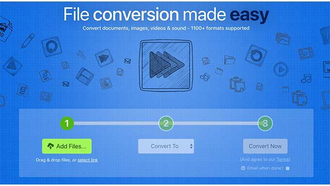 file conversion made aesy