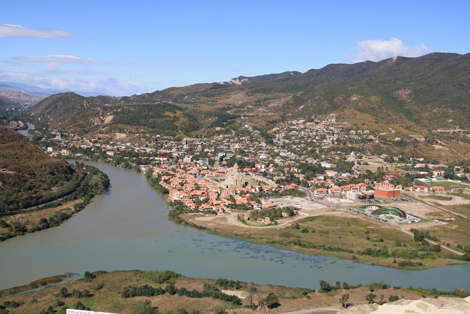 Мцхета та річки Кура і Арагві