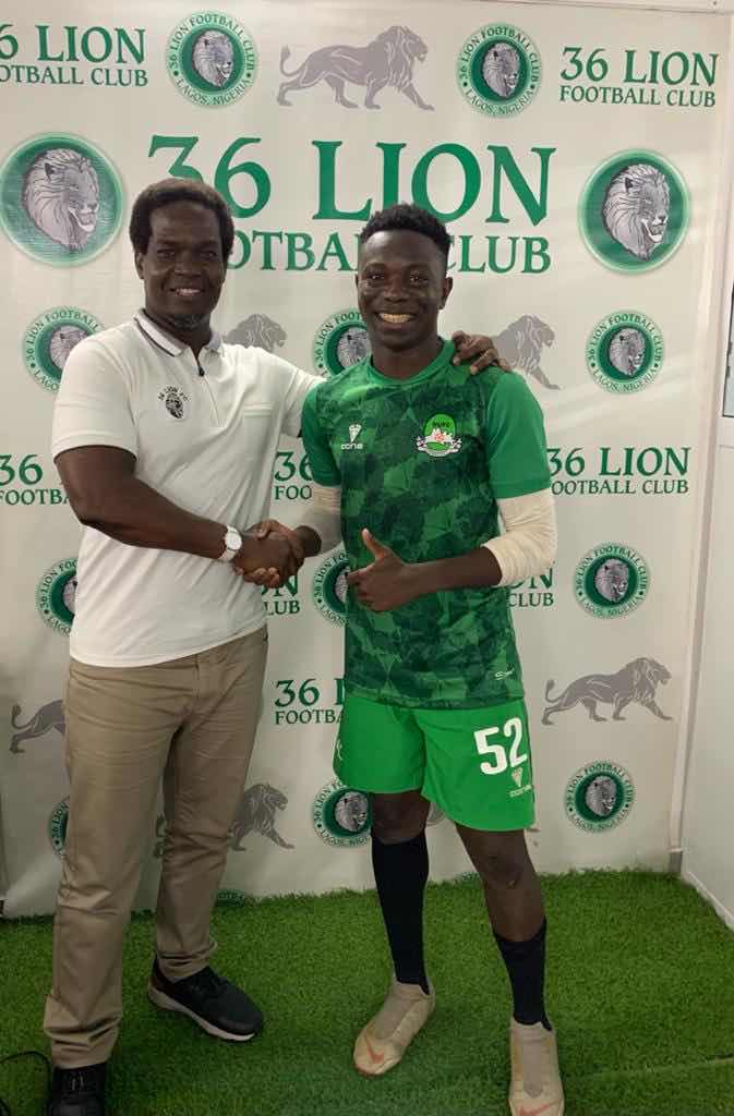 36 Lion Offers two years Contract to SWAN Selected striker, Jesse Adams
