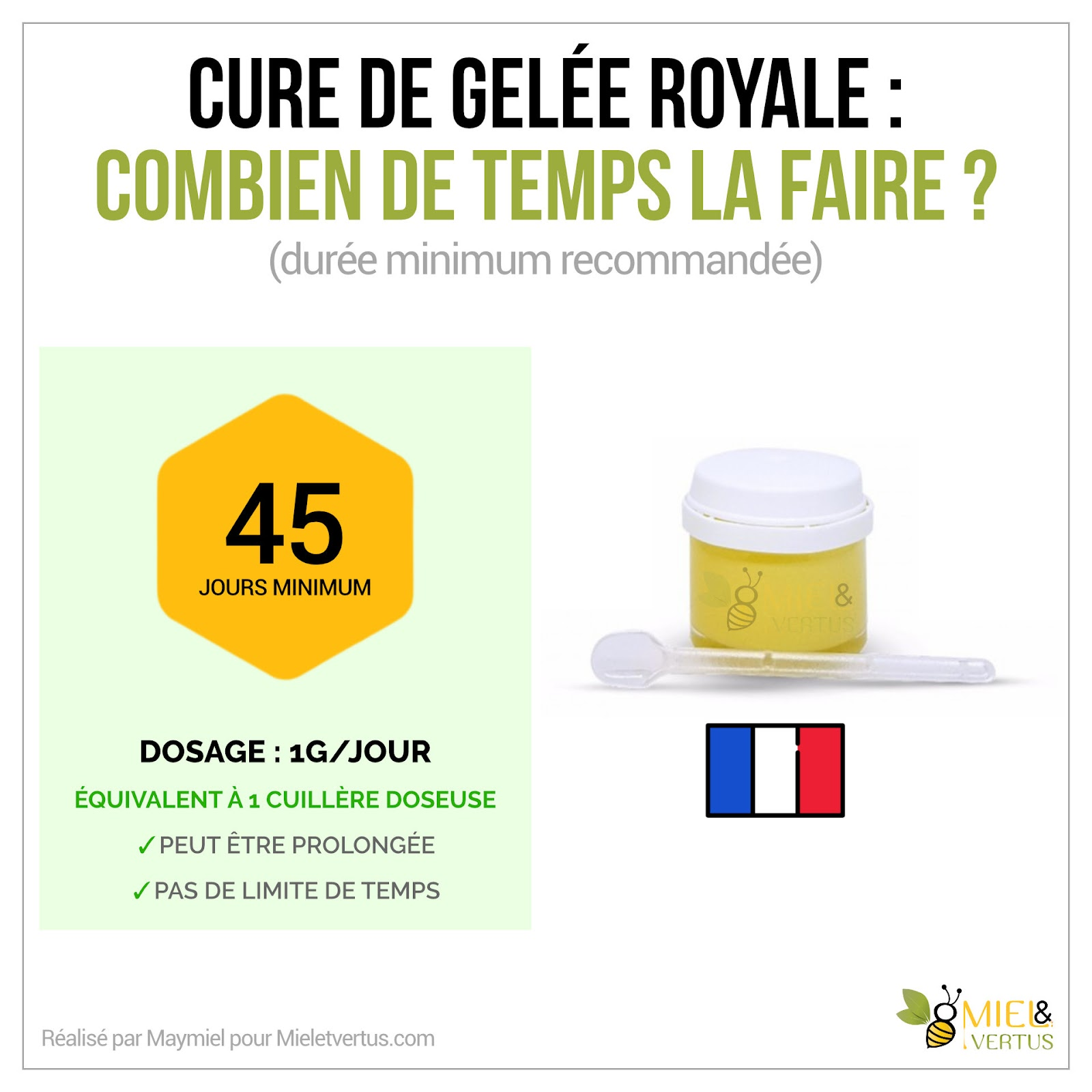 Gelée royale : Bienfaits, Cure, Production & Conservation [Guide complet] 3