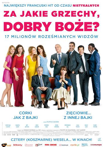 Polski plakat filmu 'Za Jakie Grzechy, Dobry Boże?'
