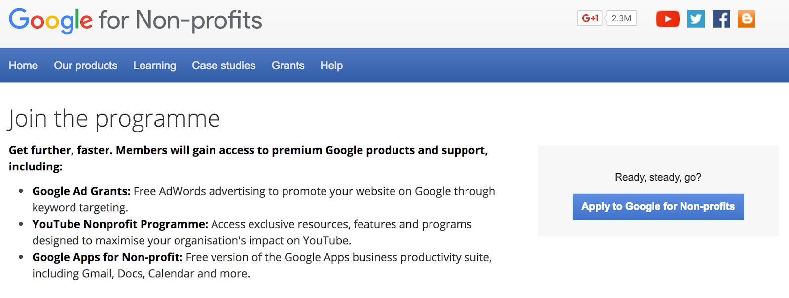Quick Guide: Google AdWords for Non-profits