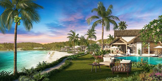 Sun premier village kem beach resort toạ lạc tại Bãi Kem