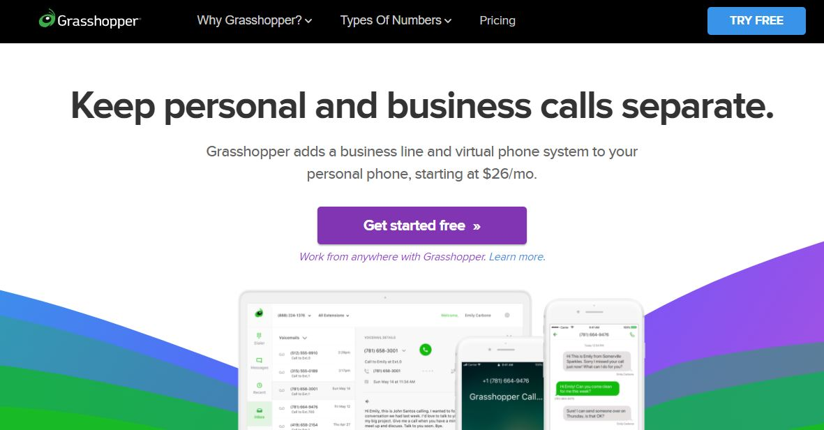 Grasshopper is a Virtual Business Phone Solutions