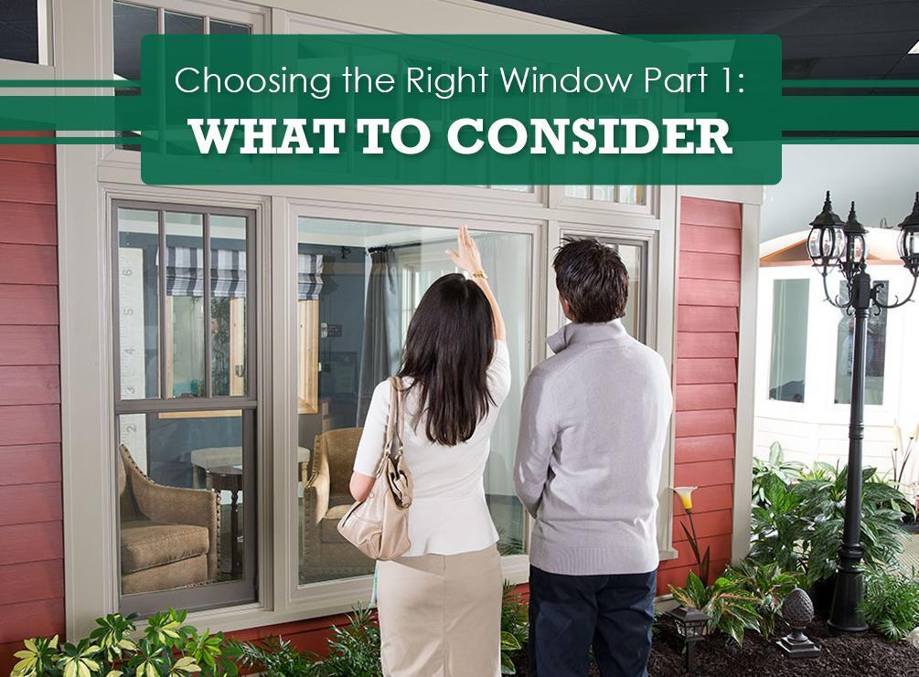 Choosing the Right Window