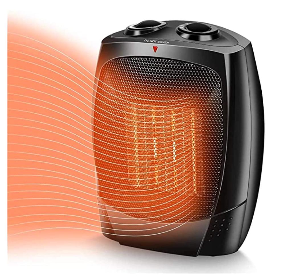 space heater to help keep 4 season camper extra warm