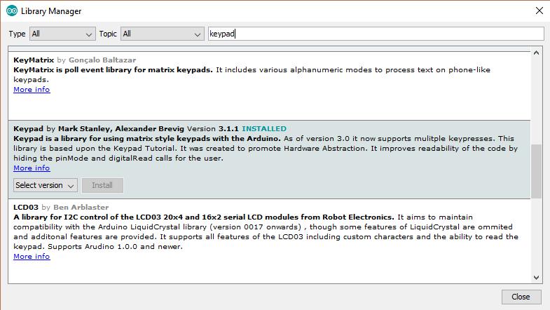 Arduino Keypad: Interfacing with 4x4 Matrix | Microcontroller Tutorials