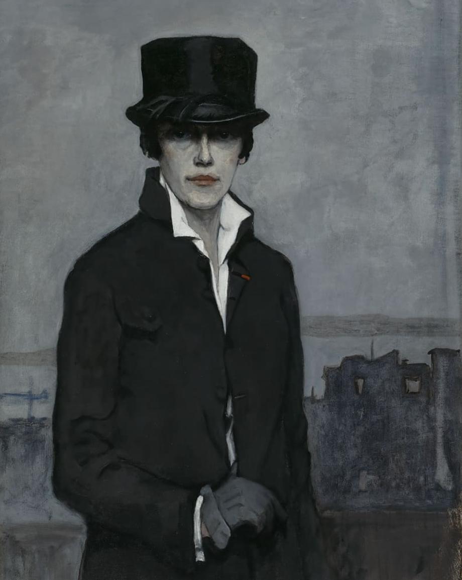 Self-Portrait, 1923, by Romaine Brooks