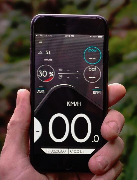 E-Bike Motion App