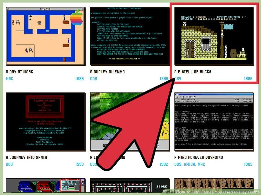 Abandonware Sites As a Key To The Lost Memories