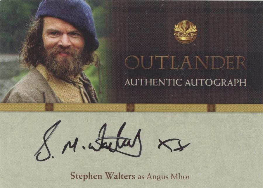 Outlander Trading Cards Season 1: Found Inventory Pack