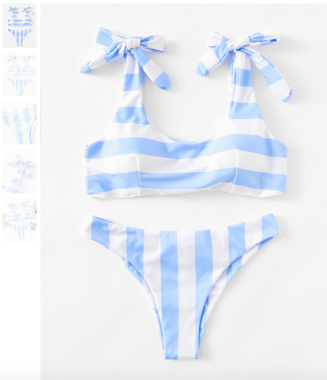 5656b66dff This one is totes adorbs if I do say so myself. I love stripes and I love  this pale blue color. It just looks so clean to me, like a nicely decorated  ...