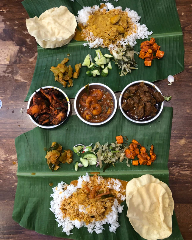 Best Banana Leaf in KL, aunty manju
